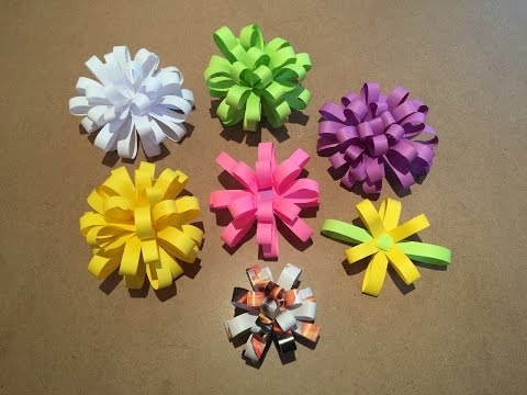 How to make Easy Paper Bows
