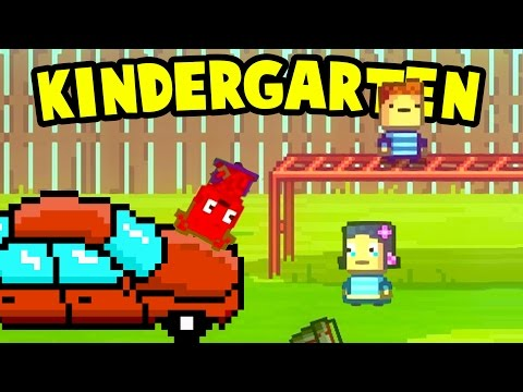 Kindergarten  - WE HIT CINDY WITH A CAR! Collecting Monstermon Cards - Kindergarten Gameplay Part 7