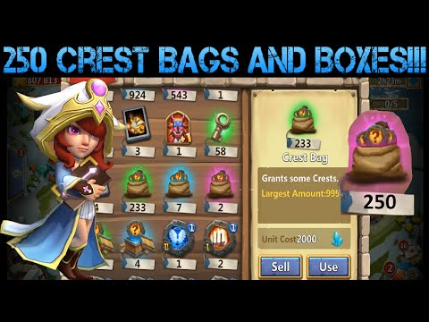 Opening 250 Crest Bags And Boxes!!!