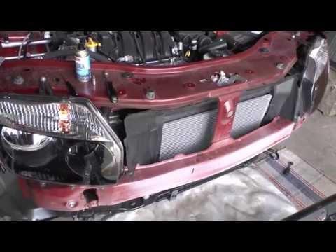 Как снять передний бампер ниссан террано 2014 видео