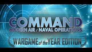Let's Try  Command Modern Air Naval Operations WOTY - Operation Wooden Leg Scenario Gameplay