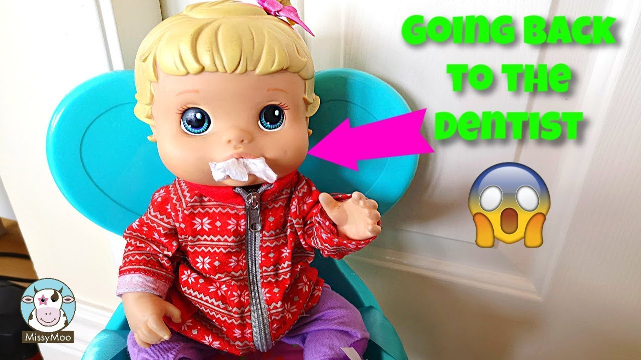 Baby Alive Dentist Routine with Bailey