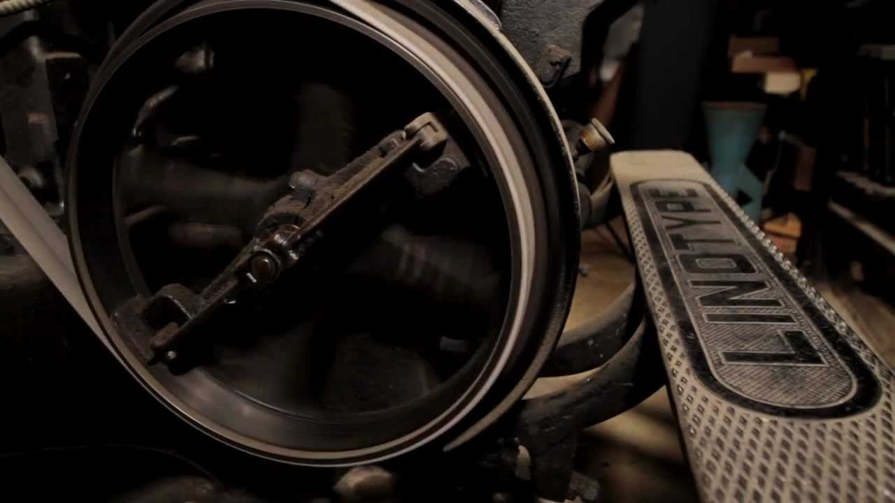 Linotype The Film Official Trailer Youtube