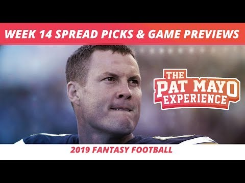 2019 Fantasy Football — Week 14 Spread Picks, Game Previews, NFL Predictions, Christmas Party Tips