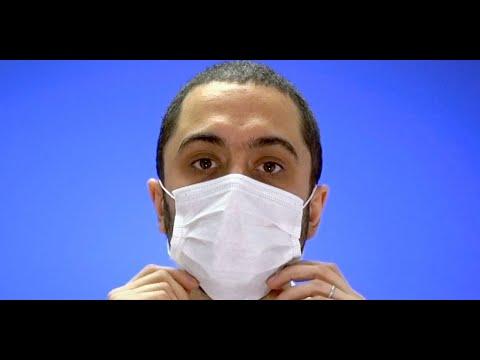 masque bebe anti virus