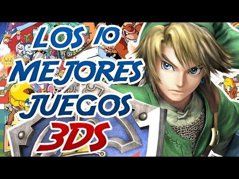 LOS 10 MEJORES JUEGOS DE LA NINTENDO 3DS