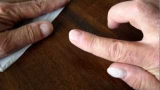 How to harden your fingernails.