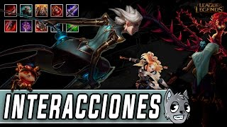 Camille | Interacciones a campeones y objetos [League of Legends]