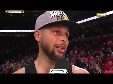 Stephen Curry Postgame  - Game 4  May 20 2019 NBA Playoffs