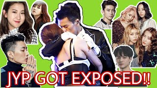 JYP ARTISTS EXPOSING JYP
