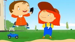 Мультфильм про машинки - Доктор Машинкова  - Радиомашинка  - развивающий  мультфильм для детей