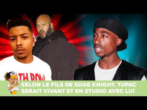 Selon le fils de Suge Knight, Tupac serait vivant et en studio avec lui !!