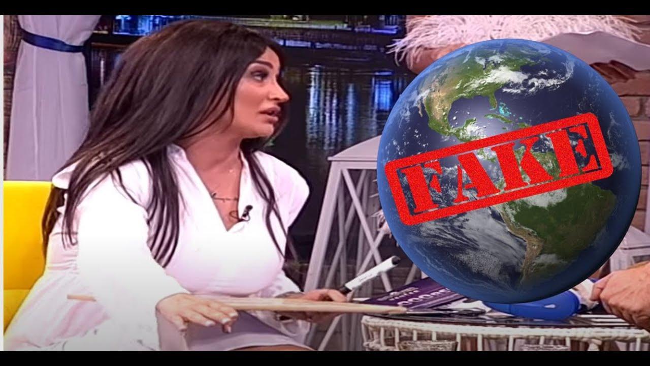 Da li je Zemlja ravna ili okrugla? (Ami G Show S12) Andreana Čekić - Komentar