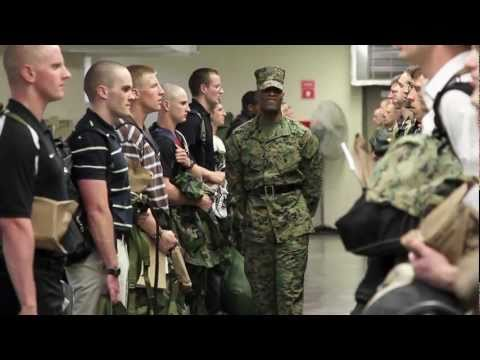 Officer Candidate School Prep 2011 - The First Hour