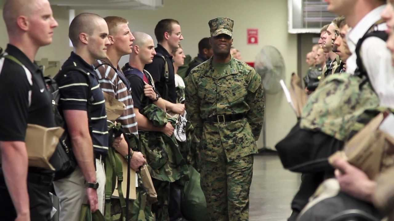 Officer candidate school prep 2011 the first hour youtube - Military officer training school ...