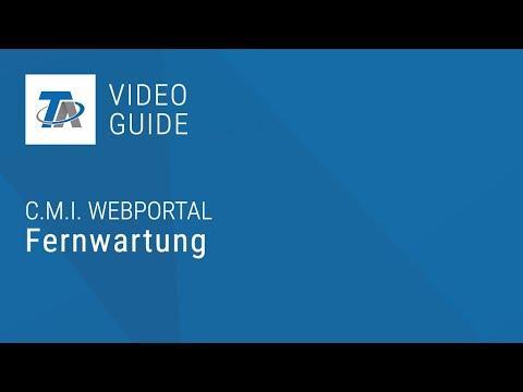 C.M.I. Fernwartung mit Webportal