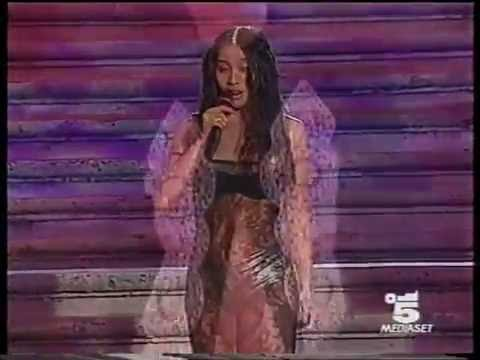 Anggun - A rose in the wind (Donna Sotto Le Stelle 12 07 99)