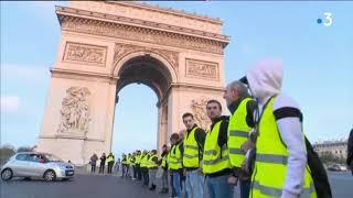 Gilets jaunes : des blocages et une interpellation en Île-de-France