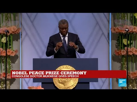 Nobel laureate Mukwege warns DR Congo vote could lead to war
