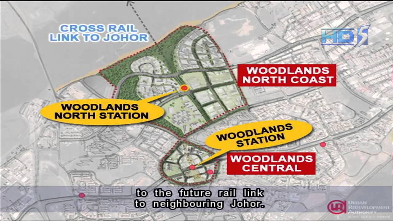Woodlands Regional Centre To Have Two Distinct Precincts