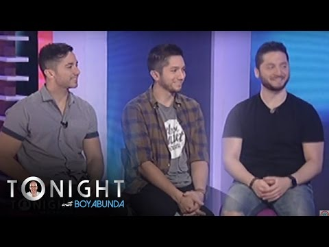 TWBA: Boyce Avenue on stage