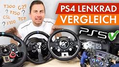Lenkrad Vergleich - Die 6 besten PS4 Racing Wheels im Test 2019!