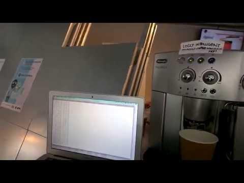 Rhys Jones Makes Cappuccino with Beacon Tech