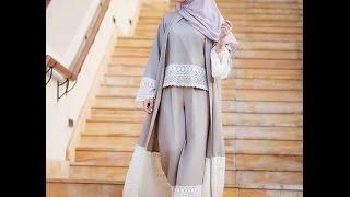 احدث تصاميم العبايات - عبايات مودرن abaya designs new collection 2016 Open Front Abaya  Kimono