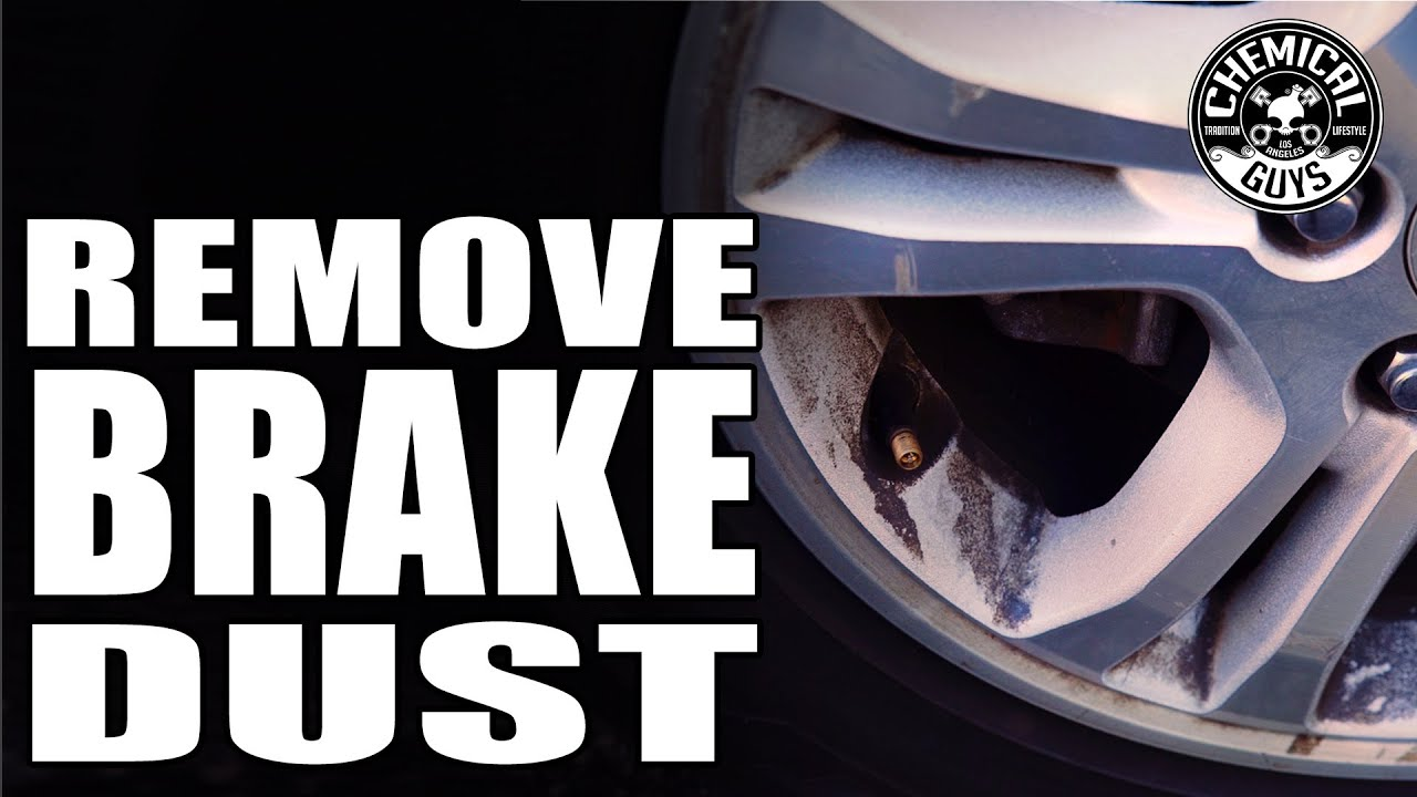 How To Remove Heavy Brake Dust From Wheels Chemical Guys Decon