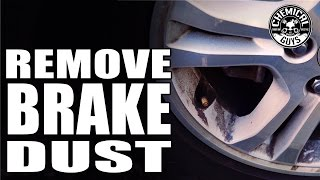 How To Remove Heavy Brake Dust From Wheels - Chemical Guys Decon Wheel Cleaner
