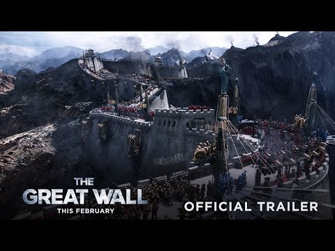 ver The Great Wall Trailer Oficial HD