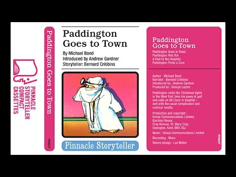 Paddington Goes to Town read by Bernard Cribbins 1975