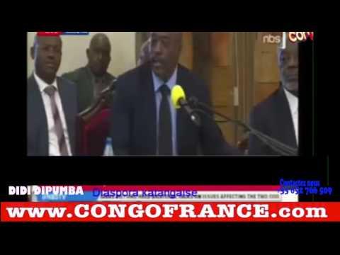 """Joseph Kabila Parle des élections En RDCONGO """"C'est moi qui organise les élections?"""