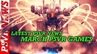 Tons Of New PSVR Games In Development!!! PSVR News + Games Out Next Month