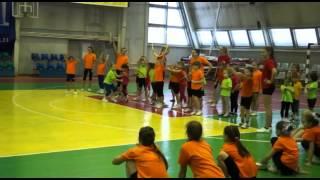 Весёлые старты - соревнования детей