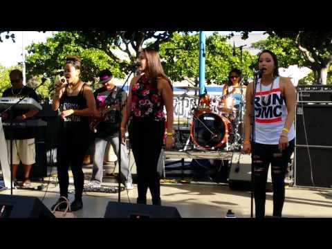 Isle Five - Kalipolina (Riddim Fest 2014 at Waterfront Plaza)