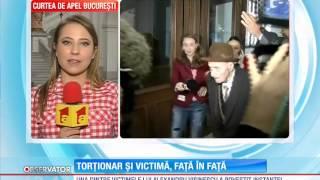 Torţionarul Alexandru Vişinescu faţă-n faţă cu una din victimele sale