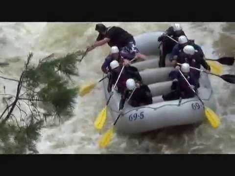 Whitewater Rafting with Penobscot Adventures