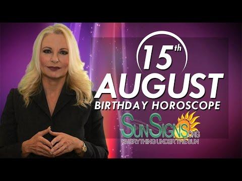 August 15th Zodiac Horoscope Birthday Personality - Leo - Part 1