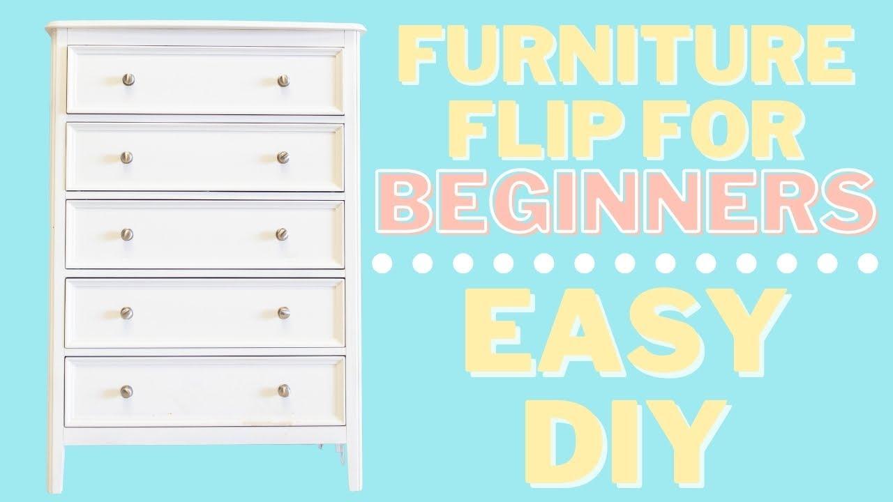 Beginner Friendly | Easy DIY Furniture Flip for YOUR HOME |