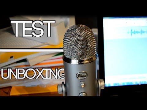 Blue Yeti - Test & Unboxing de ce Micro [FR]