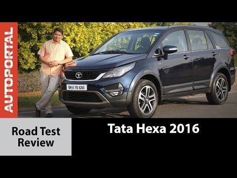 Tata Hexa 2016 Test Drive Review - Auto Portal