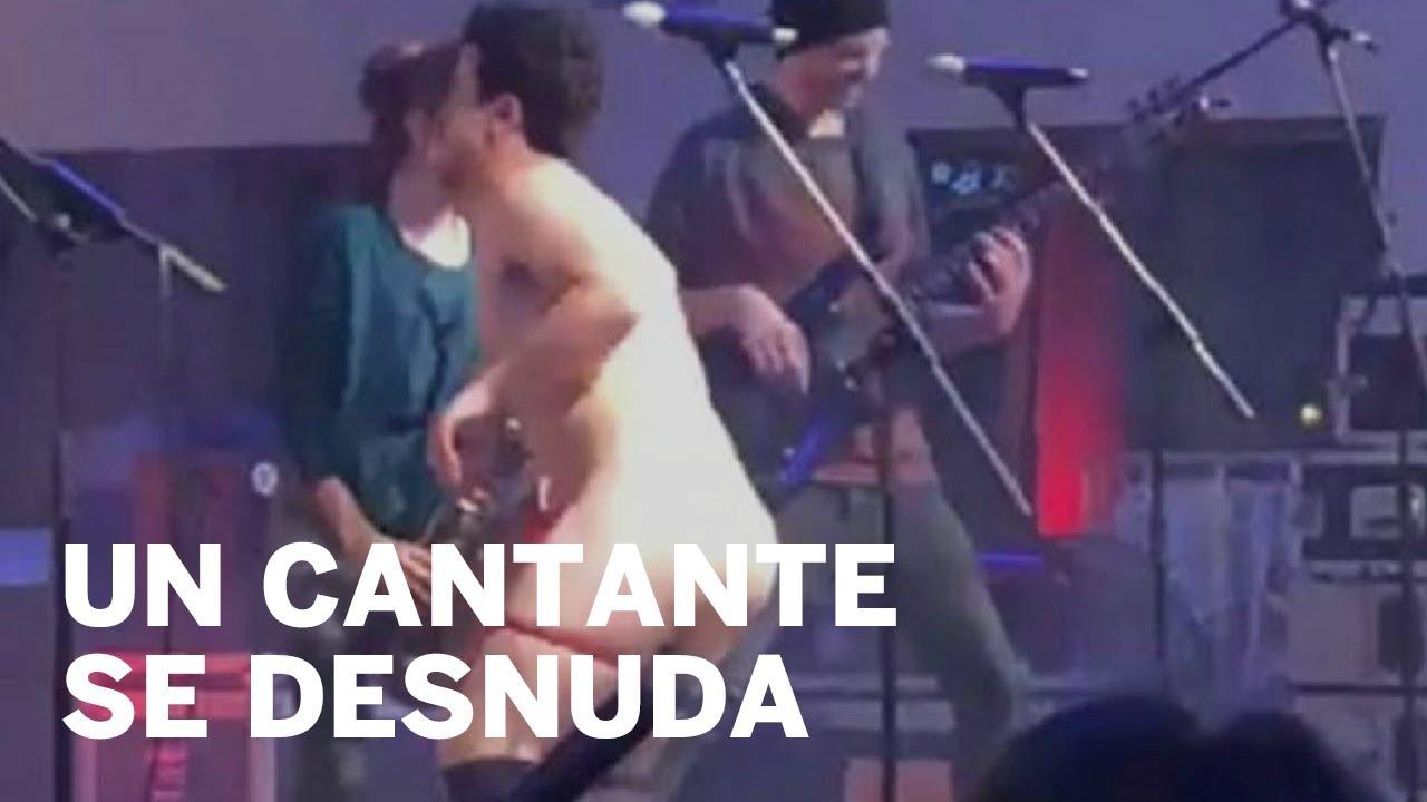 Un Cantante Se Desnuda Frente A Menores Durante Un Concierto En Castellón Viral