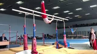Борисов Максим. Третий разряд. Начало спортивной гимнастики.