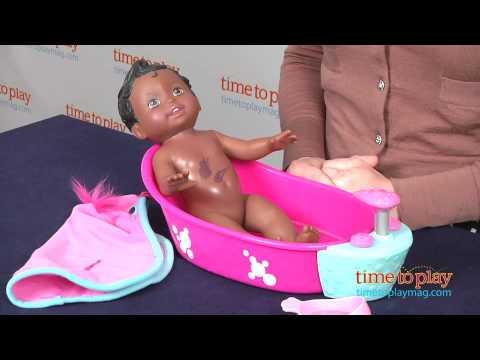 Little Mommy Bubbly Bathtime From Mattel