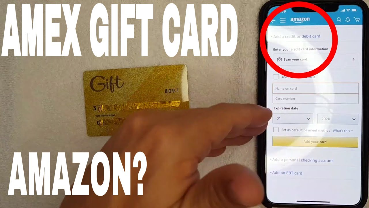 ✅ Can You Use Amex American Express Gift Card On Amazon? 🔴