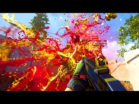 """NEW """"MOTHER LODE"""" GRAU GOLDEN DISMEMBERMENT EFFECT! HOW to GET GOLD TRACERS in MODERN WARFARE"""