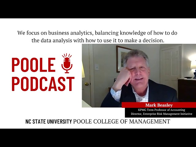 Data anyalytics at NC State Poole College