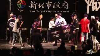 AYUMI VS SHIGEKIX (NEW TAIPEI BBOY CITY 2015)    WWW.BBOYWORLD.COM