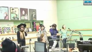 130814 2NE1 Do You Love Me Radio LIVE